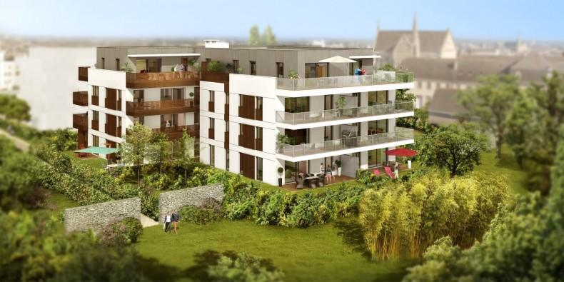 Vendu VAppartement T3 rdc avec terrasse et jardin