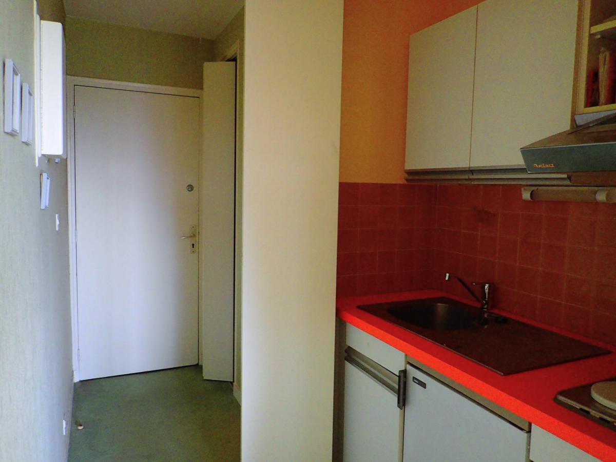 Appartement studio vue mer terrasse parking