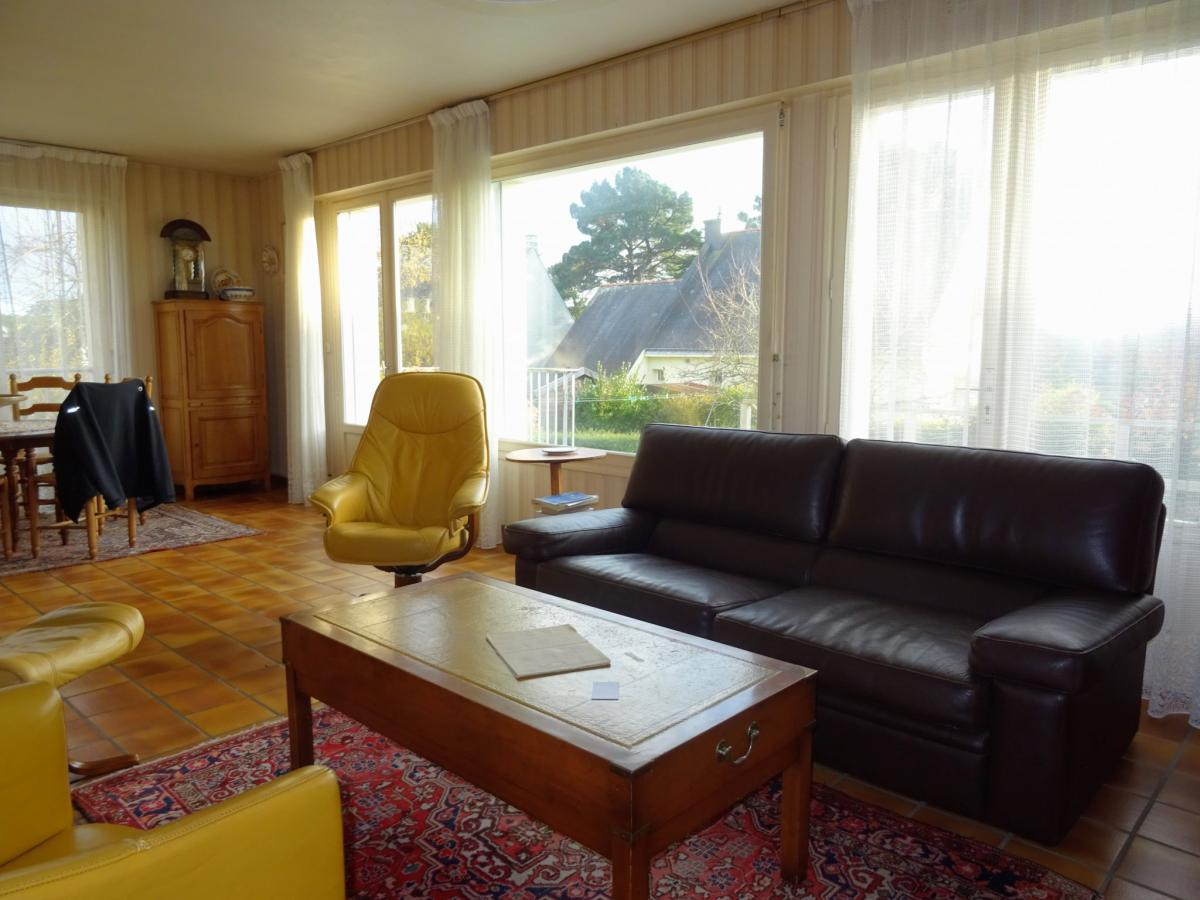Maison Vannes, petite vue golfe, 5ch, jardin, sous-sol et ga