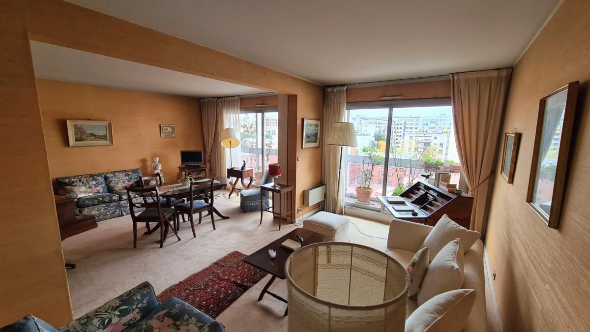 Appartement 2 ch 75m2 et balcons