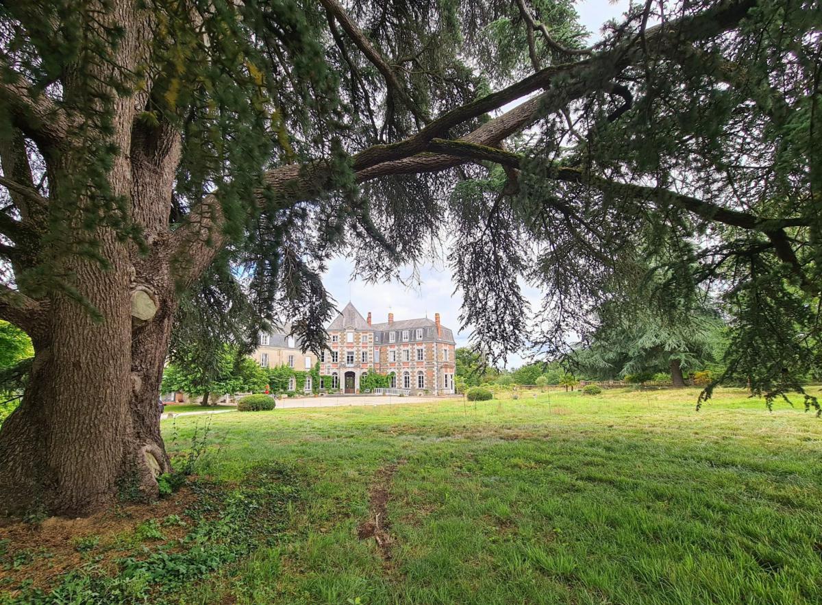 Propriété château réceptions parc