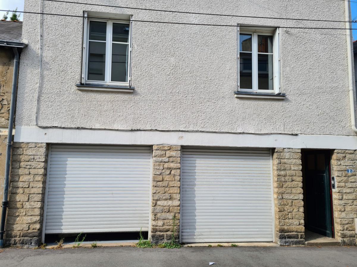 Centre appartement ancien 1 ch cave garage